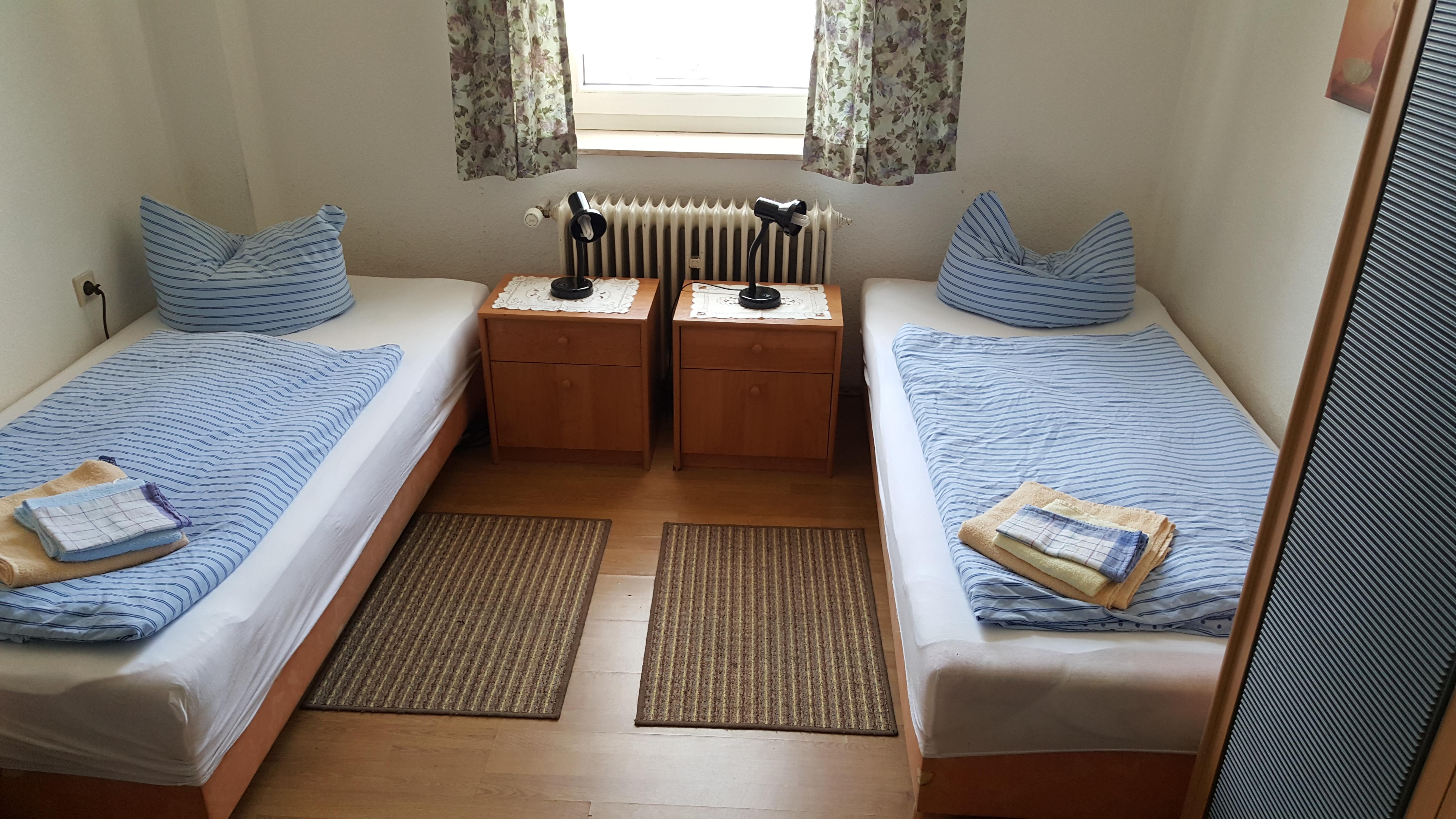 Appartements Oberhausen Leutl: Doppelzimmer